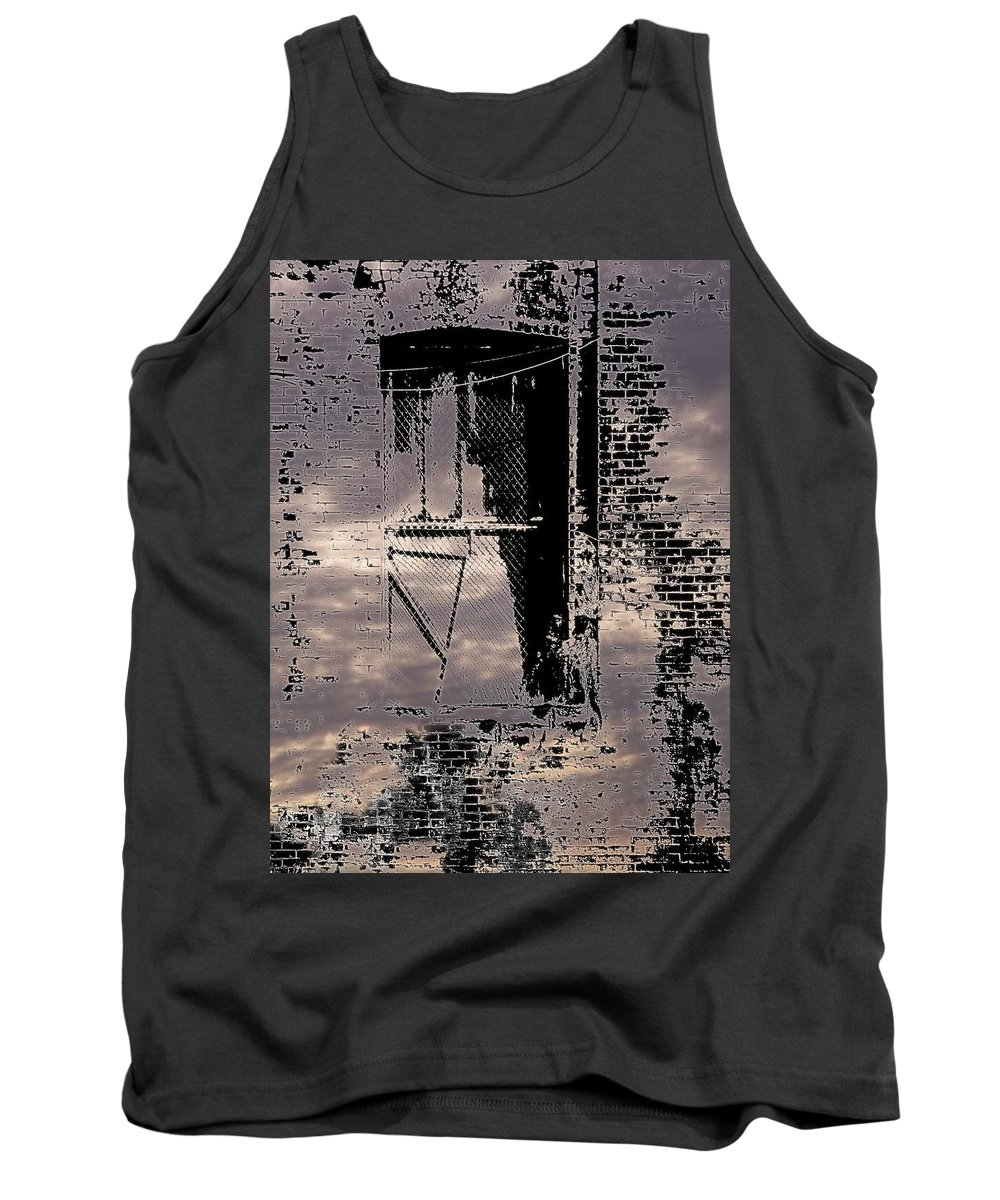 Window Tank Top featuring the photograph Window 3 by Tim Allen