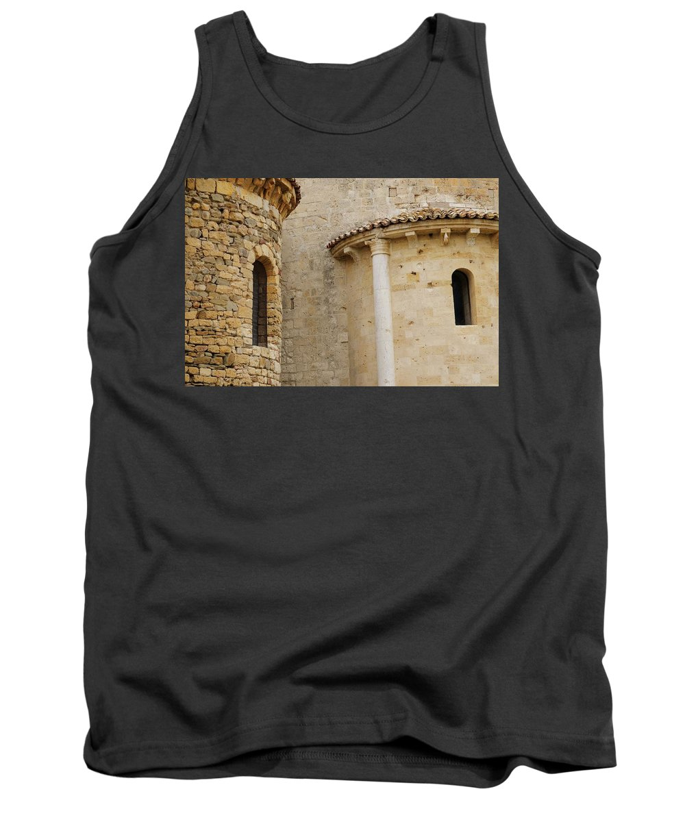 Italy Tank Top featuring the photograph Window Due - Italy by Jim Benest