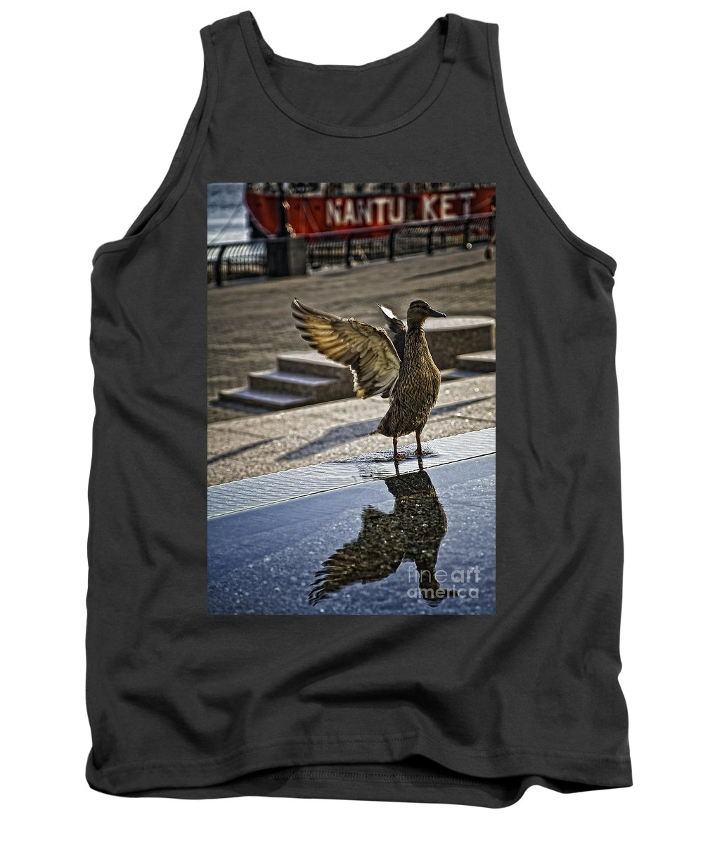 Bird Tank Top featuring the photograph Winged Bird by Madeline Ellis