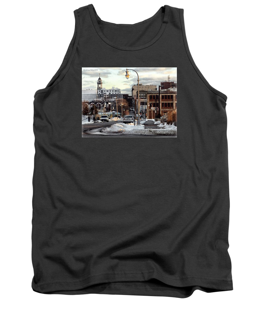 Landscape Tank Top featuring the photograph Winter In Portland by Catherine Melvin