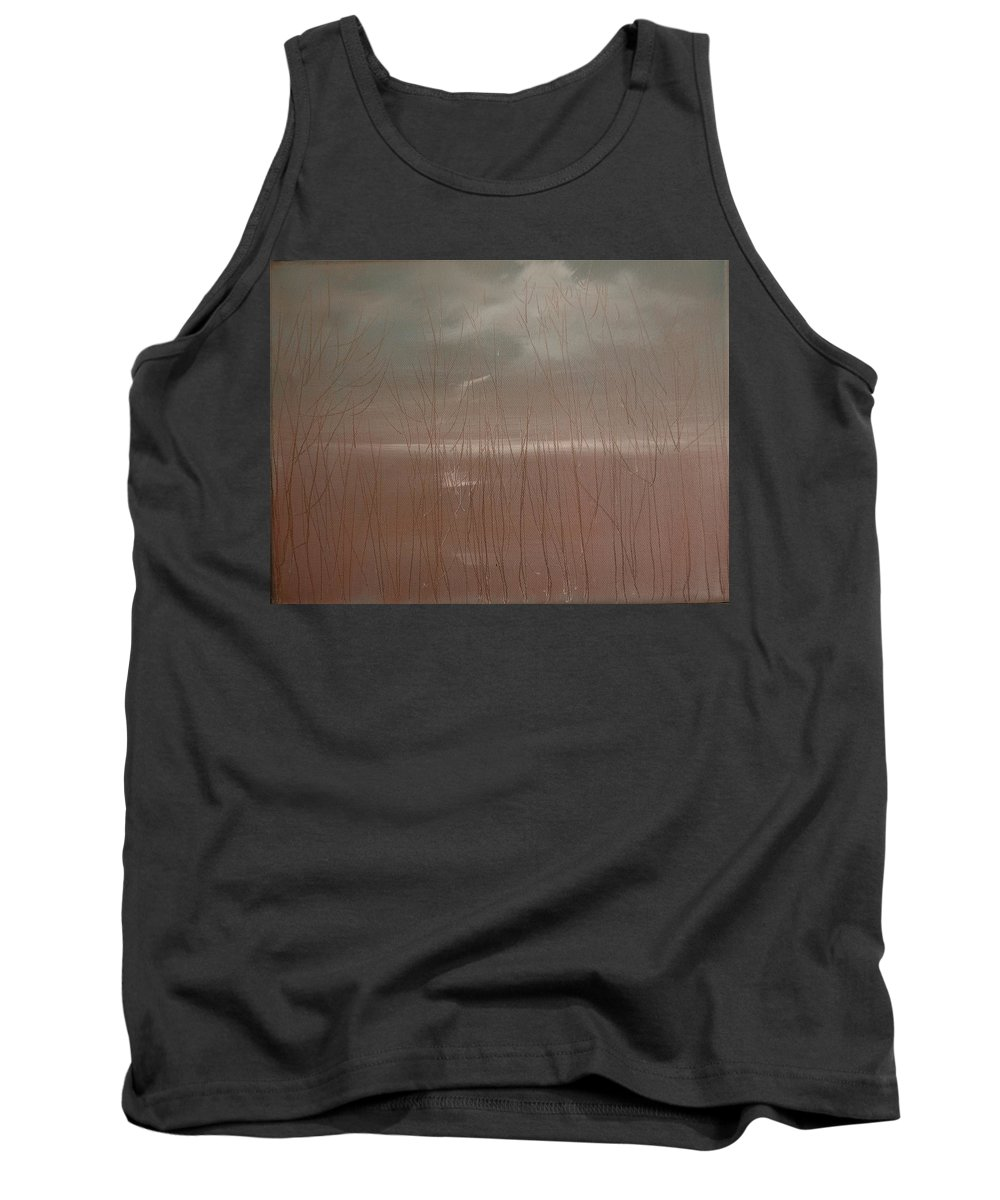Dusk Tank Top featuring the painting Winter Of Hope by Jack Diamond