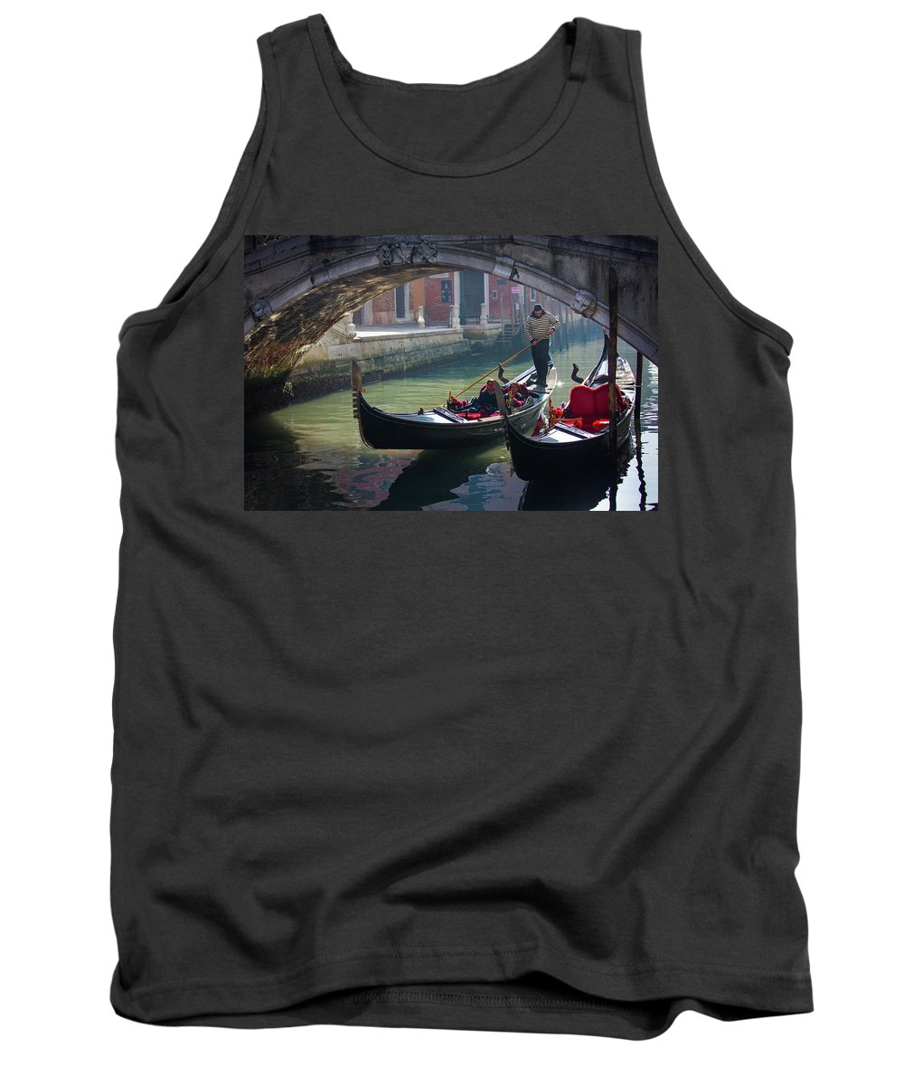 Italy Tank Top featuring the photograph Winter Sun by Chris Beard