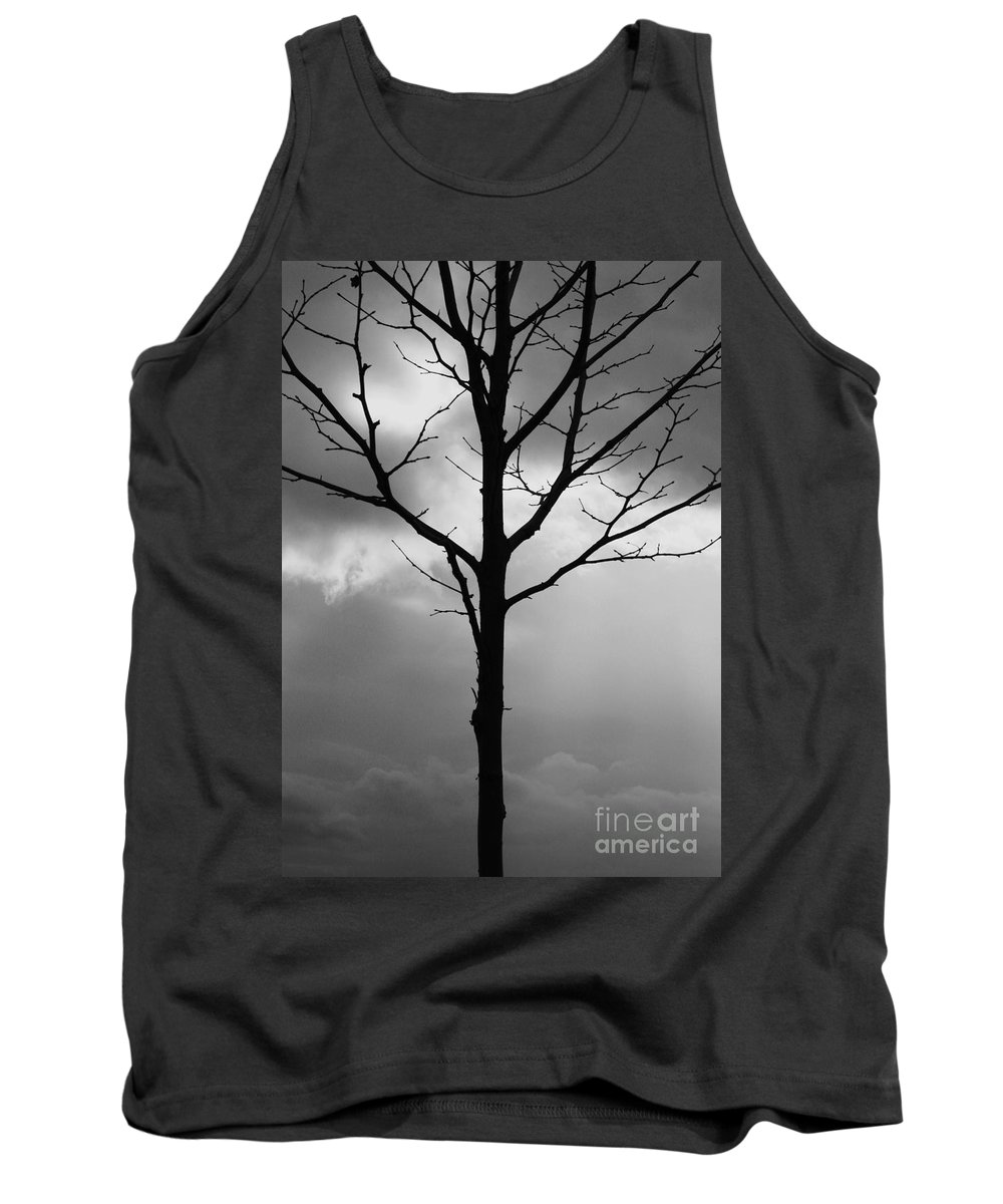 Winter Tree Tank Top featuring the photograph Winter Tree by Carol Groenen
