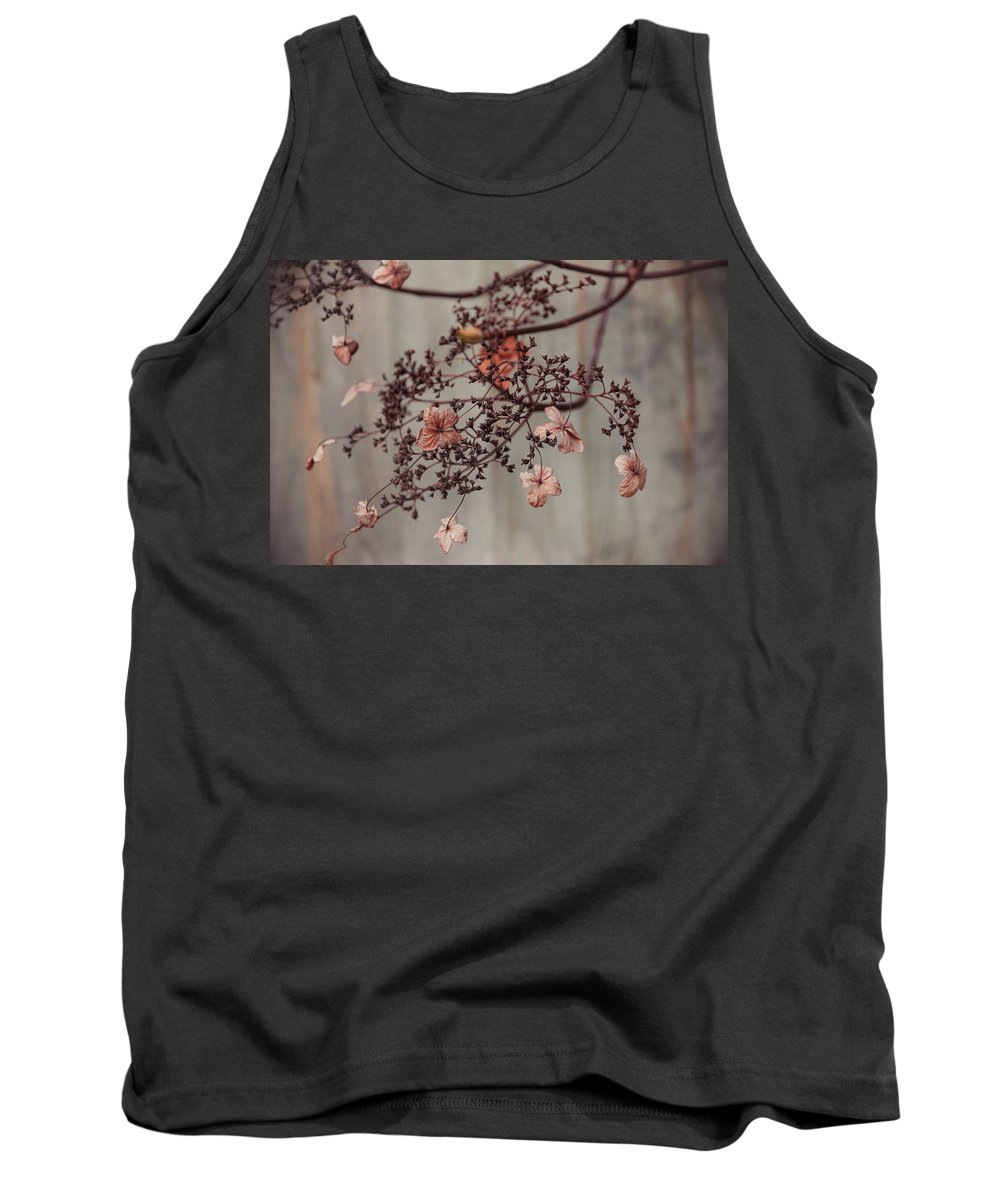 Autumn Tank Top featuring the photograph Wintry Elegance by Milton Cogheil