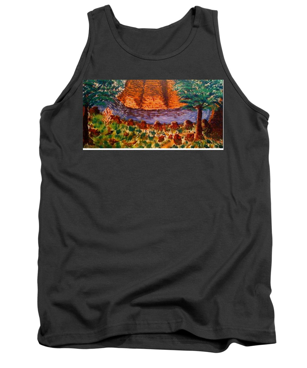 Nature Tank Top featuring the painting Wonder by R B