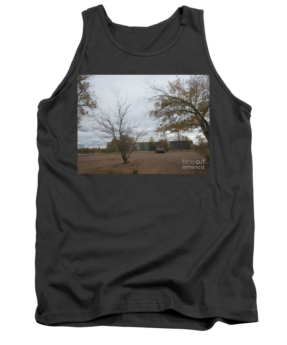 Woodworking Tank Top featuring the photograph Woodworking Plant by Frederick Holiday