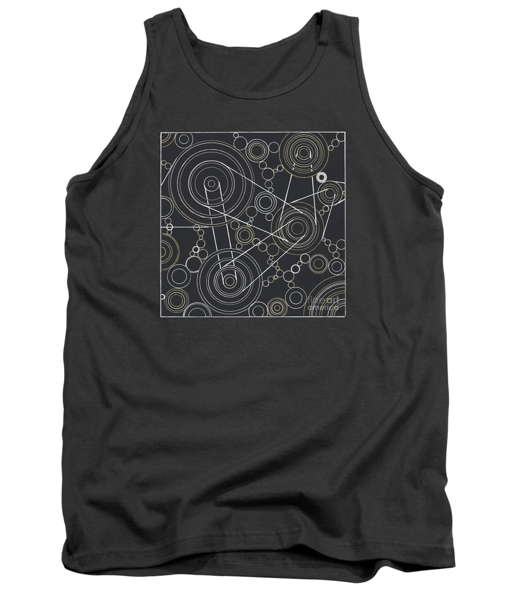 Motion Tank Top featuring the drawing World In Motion by Amy Nelson