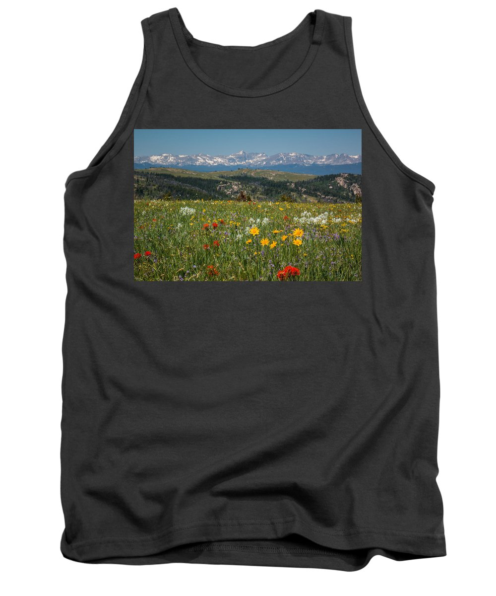 Trailsxposed Tank Top featuring the photograph Wyoming's Winds by Gina Herbert