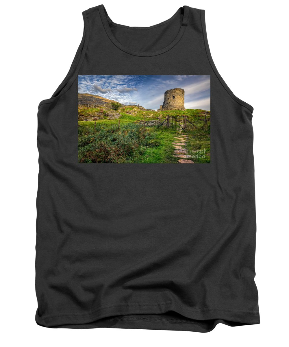 Castle Tank Top featuring the photograph Ye Olde Path by Adrian Evans