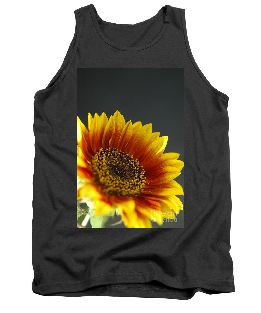 Yellow Tank Top featuring the photograph Yellow And Orange Gerber by Ilan Amihai