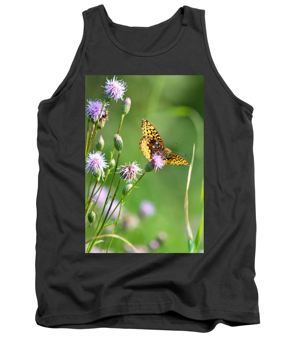 Nature Tank Top featuring the photograph Yellow Beauty by Crystal Massop
