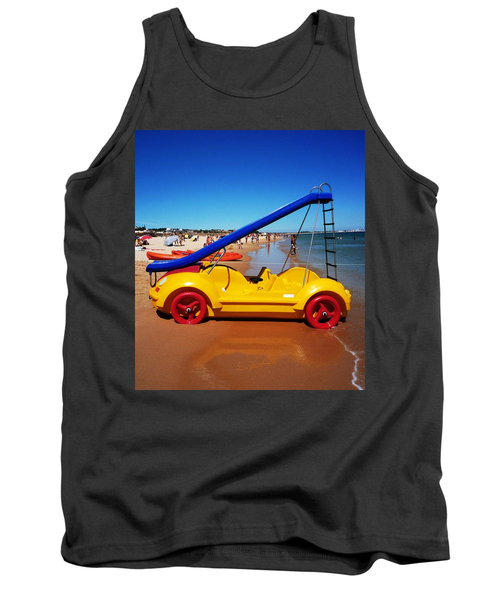 Noddy Car Tank Top featuring the photograph You Are What You Drive by Charles Stuart