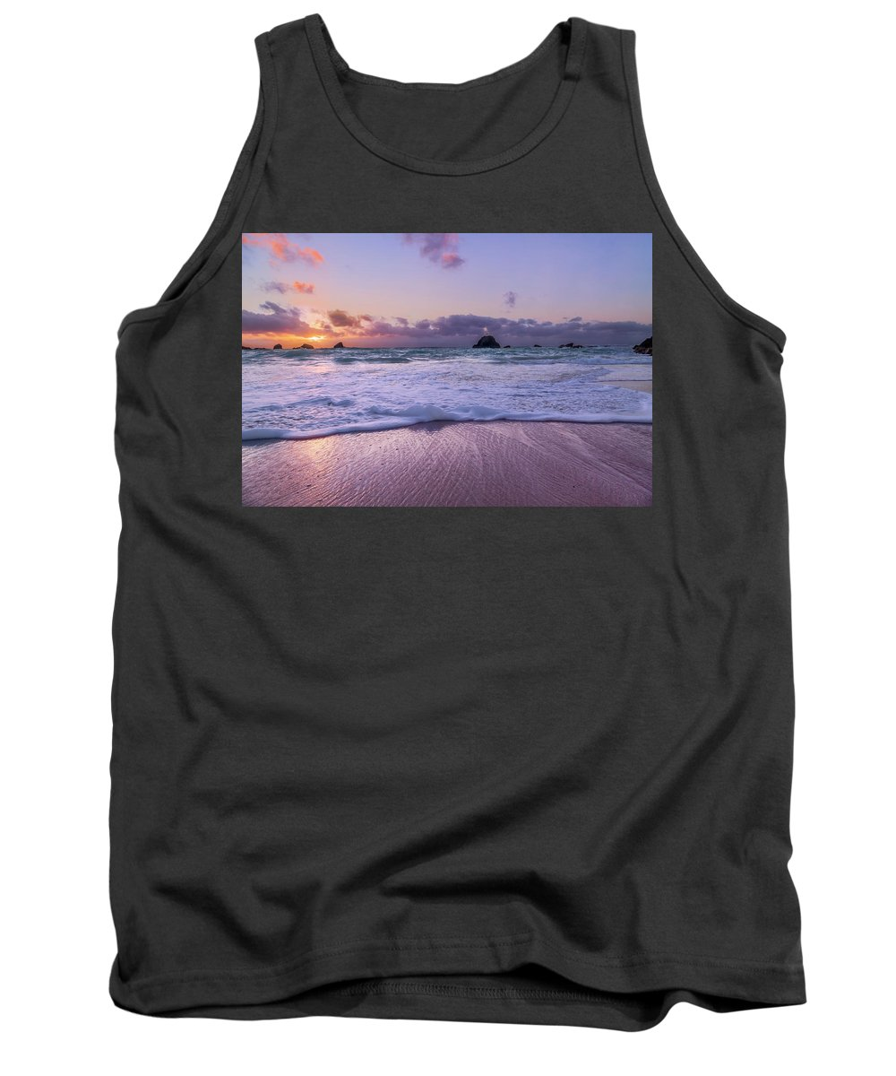 Bermuda Tank Top featuring the photograph Bermuda Sunrise Welcome To Heaven Crossbay Beach by Betsy Knapp