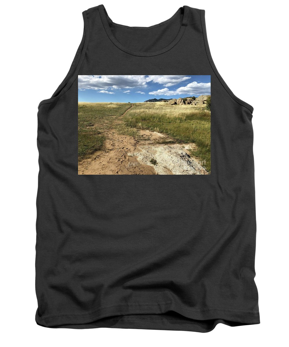 Colorado Tank Top featuring the photograph Colorado Beauty by Nadine Rippelmeyer