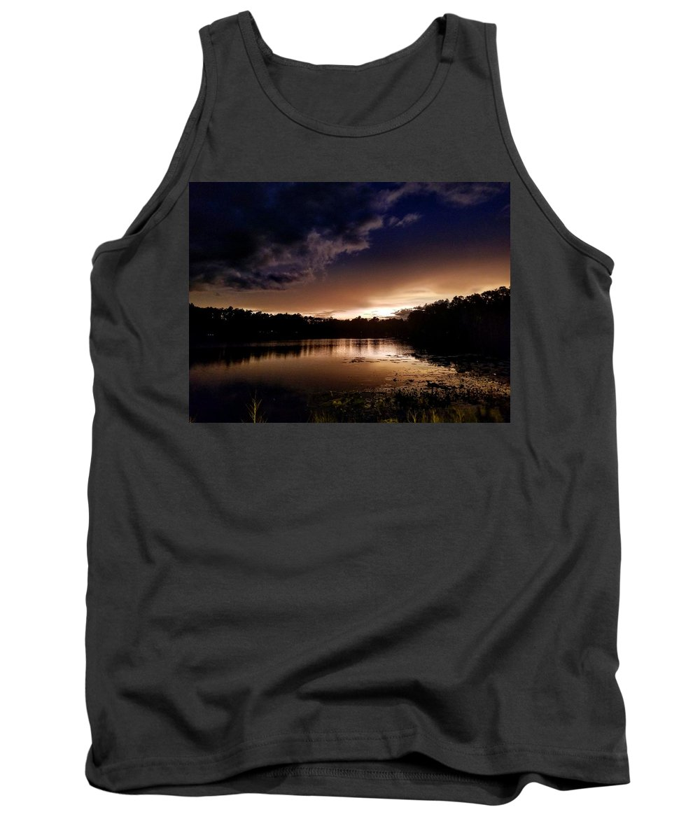 Water Reflection Tank Tops