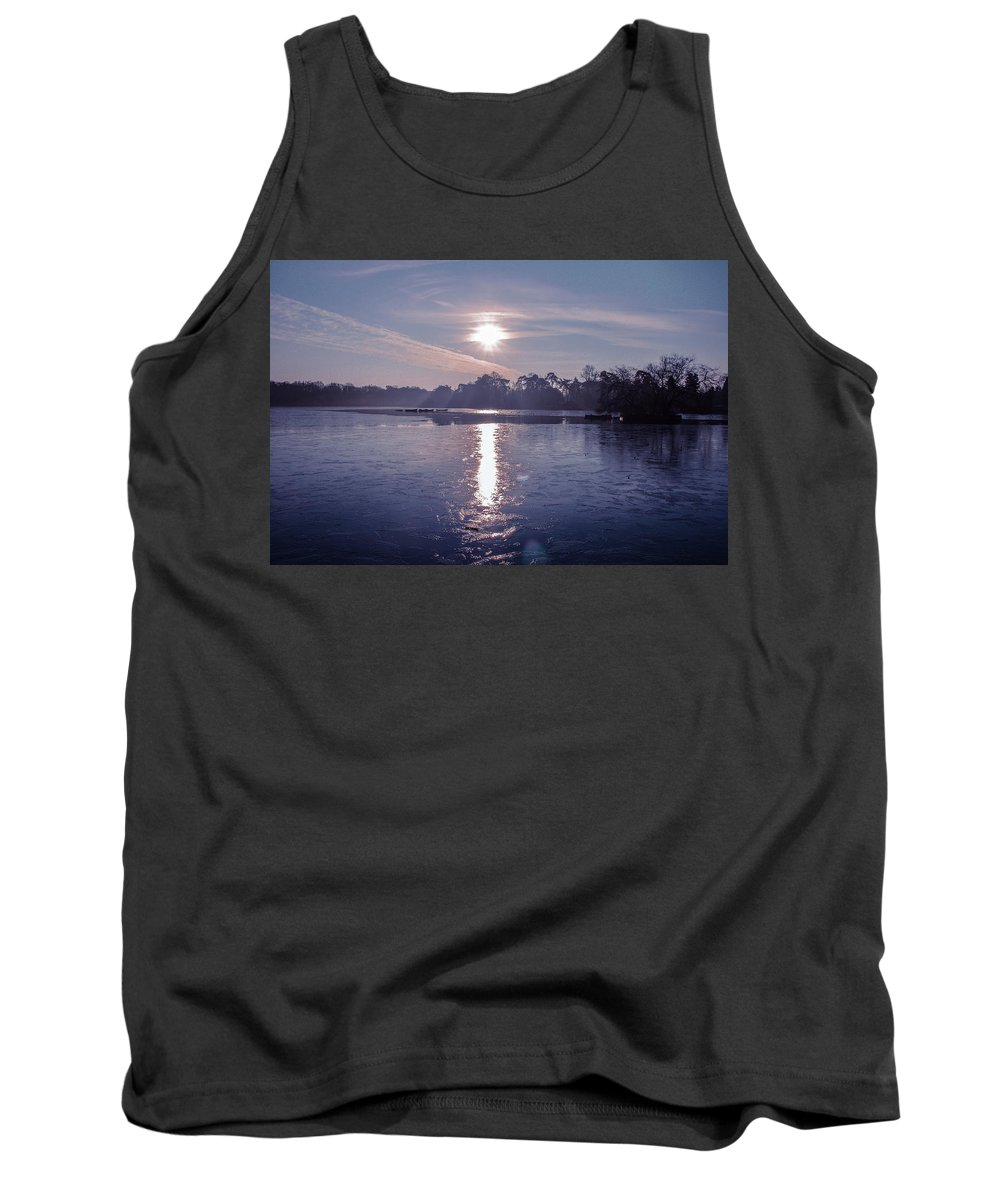 Ice Photographs Tank Tops