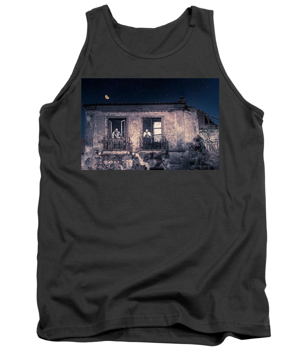 Beja Tank Top featuring the photograph Jim And Jack by Micah Offman
