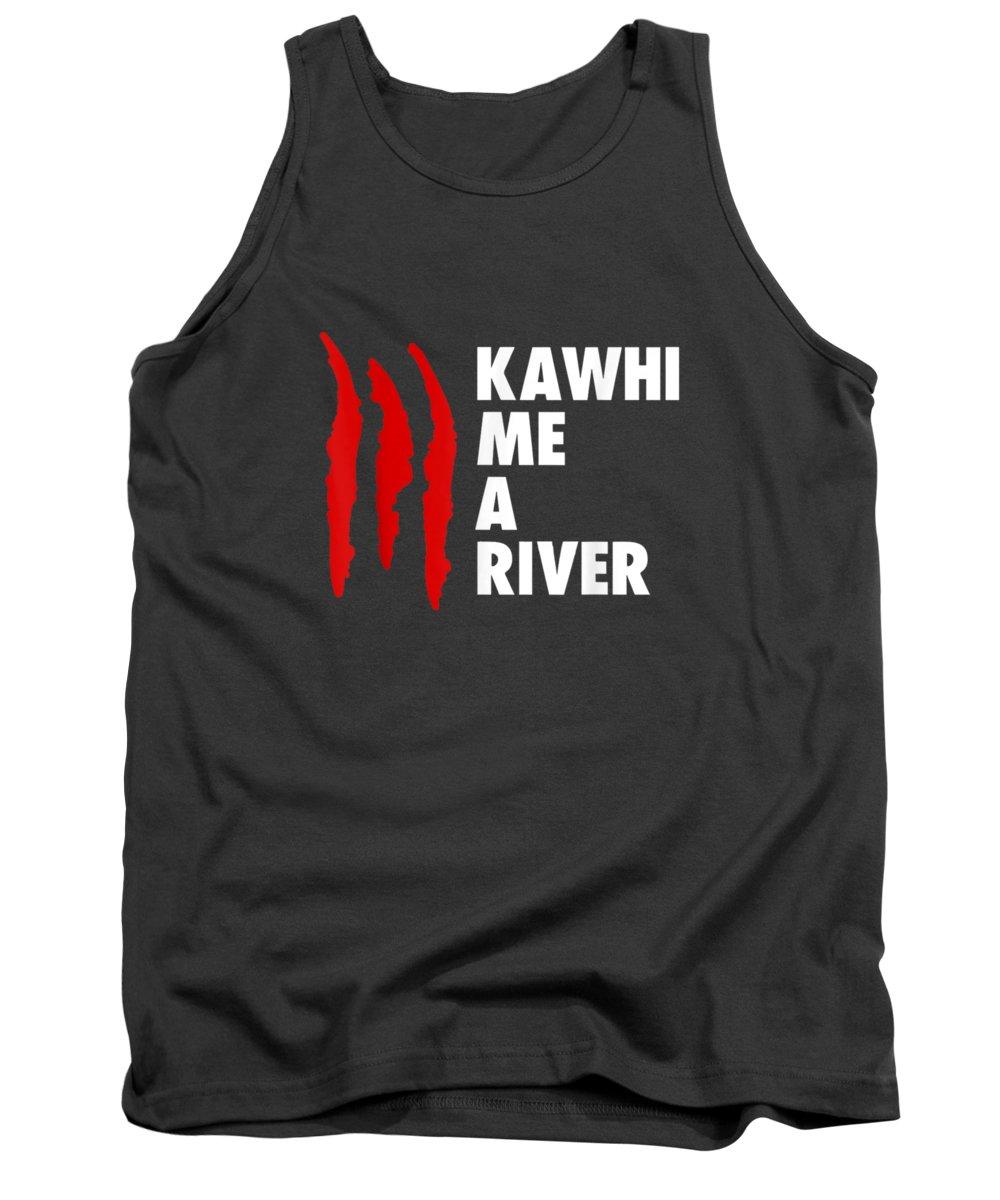 men's Novelty T-shirts Tank Top featuring the digital art Kawhi Me A River For Men Women T-shirt by Do David