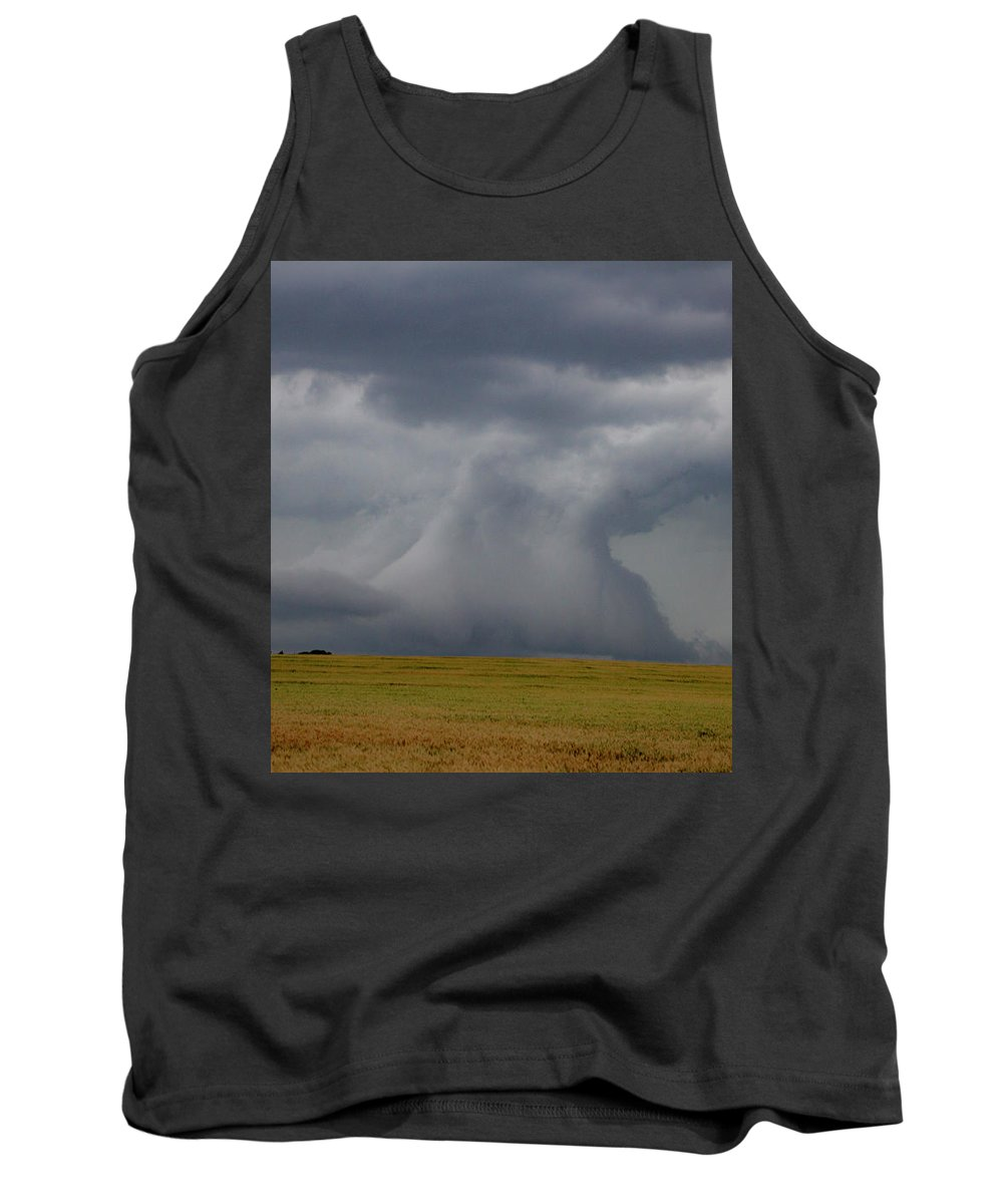 Nebraskasc Tank Top featuring the photograph Moderate Risk Bust Chase Day 019 by NebraskaSC