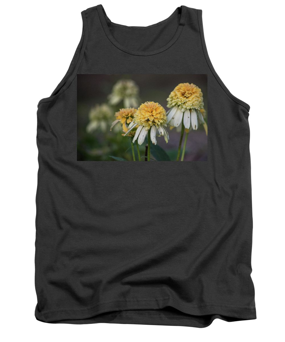 Flowers Tank Top featuring the photograph Nana's Garden by Heather Vanderveen