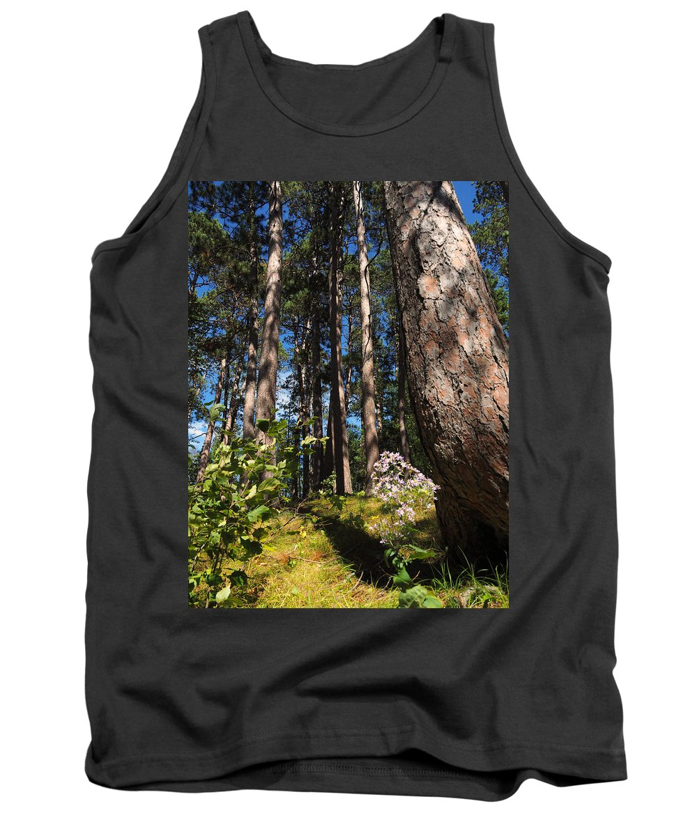 Itasca Tank Top featuring the photograph Red Pine Itasca by James Peterson