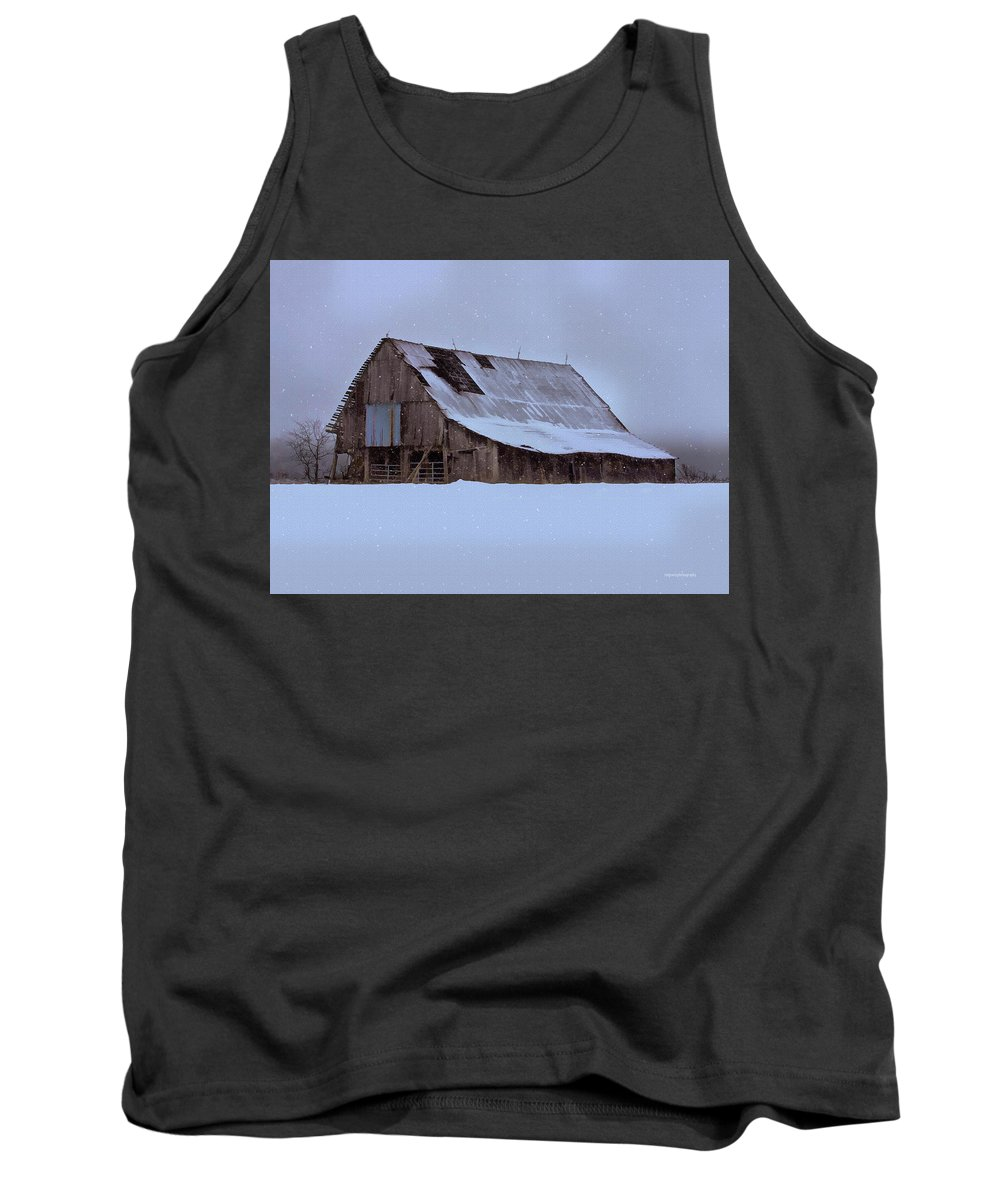 Winter Tank Top featuring the photograph Repairs Needed by Ron Jones