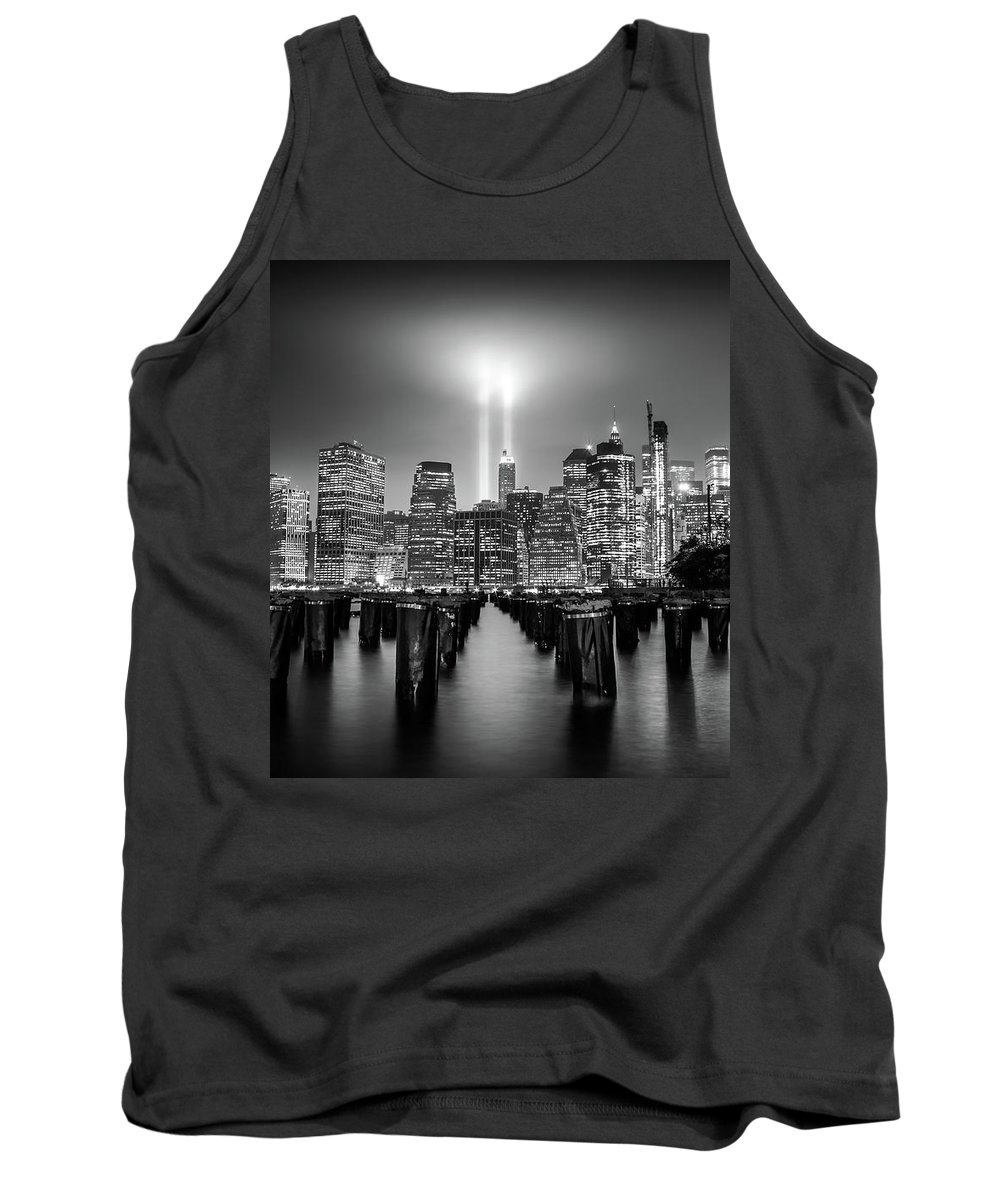 New York Tank Top featuring the photograph Spirit Of New York by Nicklas Gustafsson