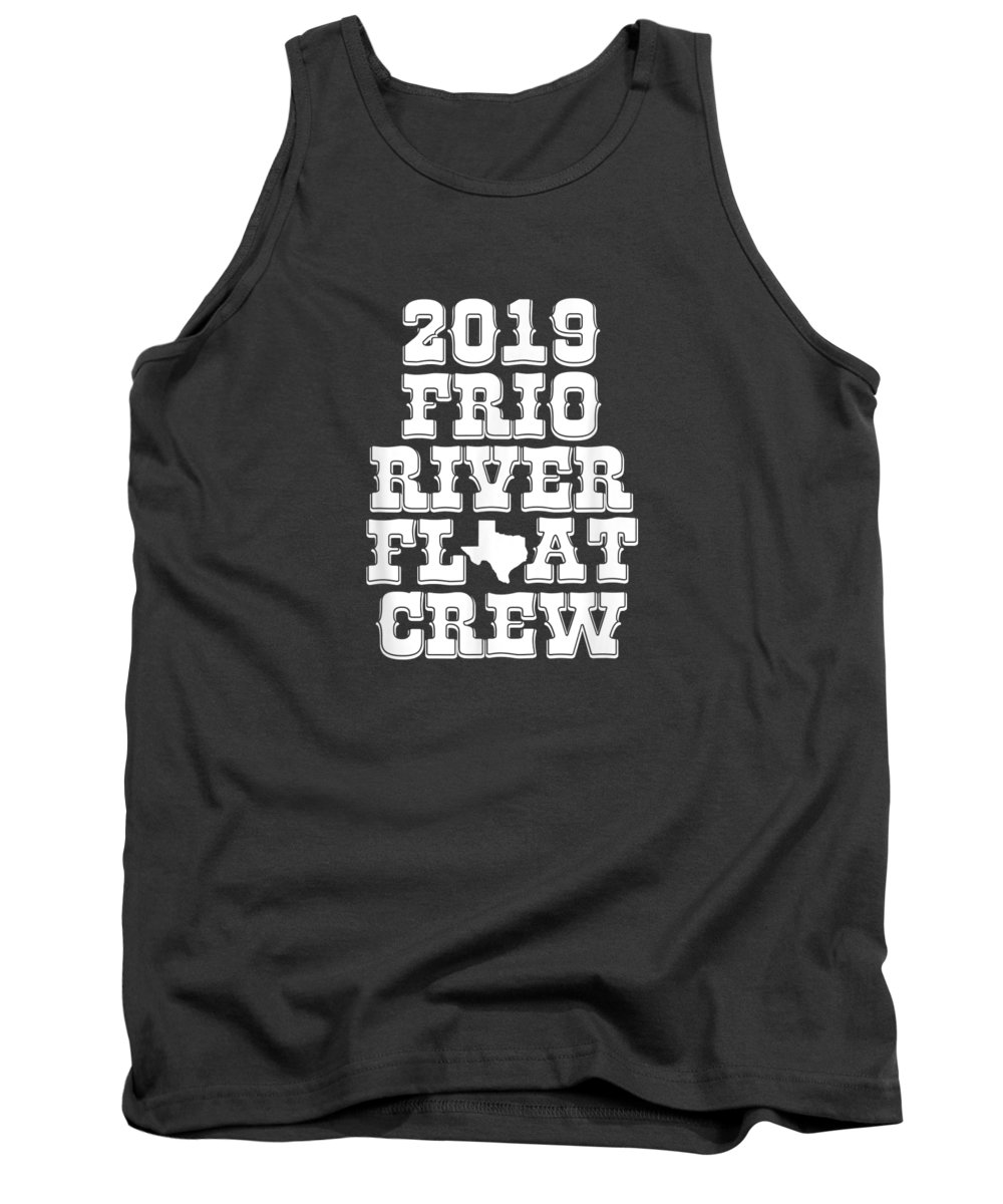 girls' Novelty T-shirts Tank Top featuring the digital art Texas Frio River Tube Floating 2019 Crew Float The River T-shirt by Do David