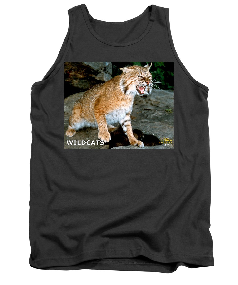 Wildcats Tank Top featuring the photograph Wildcats Mascot 3 by Larry Allan