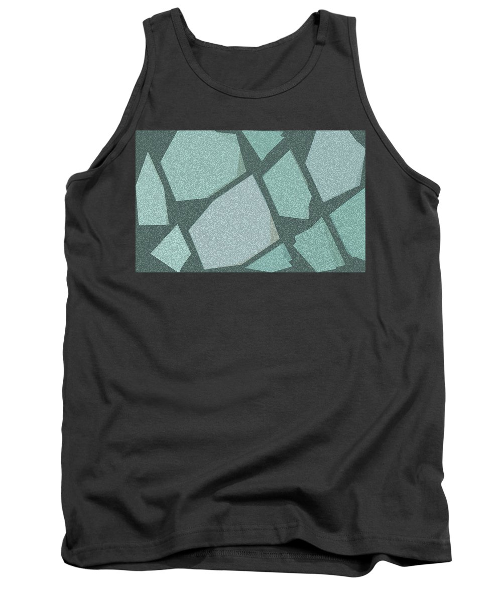 Gold Bedroom Wall Art Tank Top featuring the digital art Would Have Used by TintoDesigns