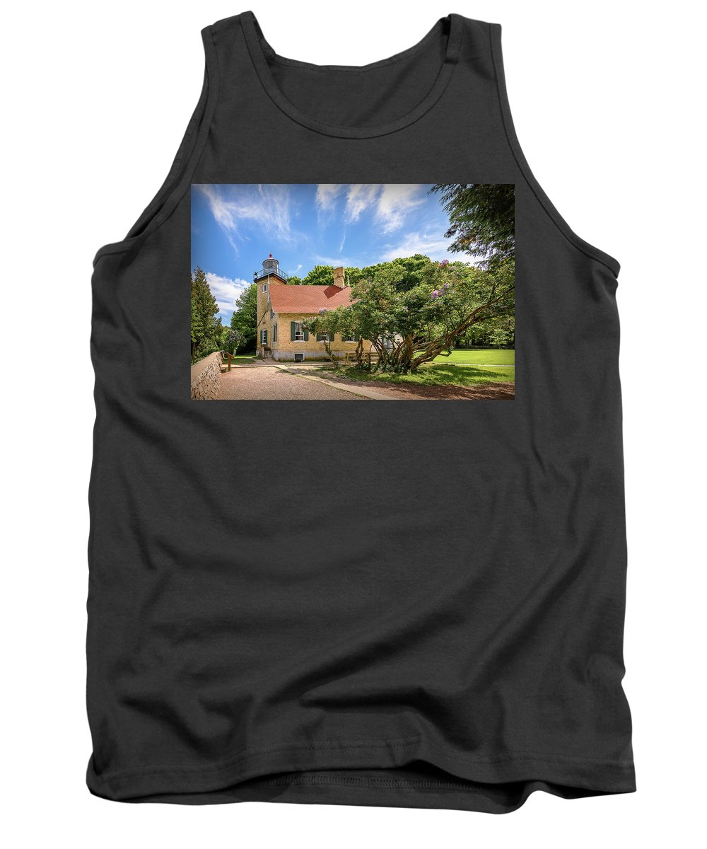 Lighthouse Tank Top featuring the photograph 20-0608-0073 by Anthony Roma