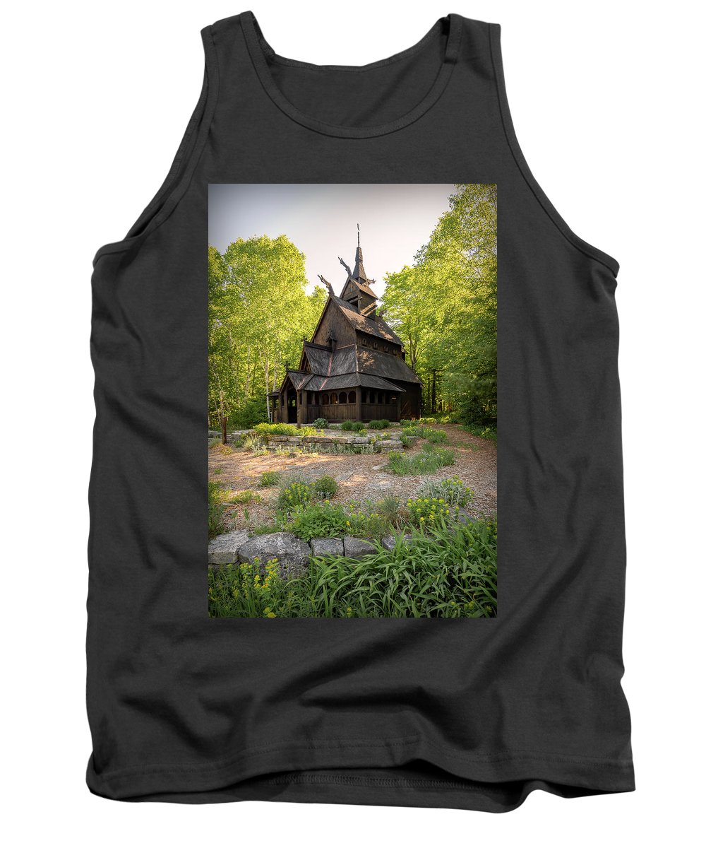 Architecture Tank Top featuring the photograph 20-0609-0217 by Anthony Roma