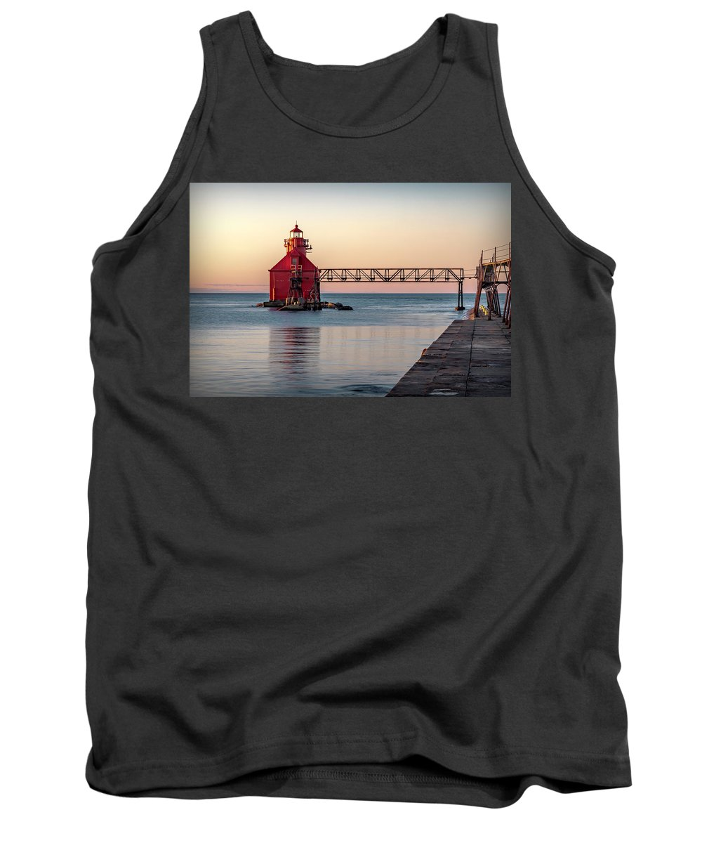 Lighthouse Tank Top featuring the photograph 20-0611-0386 by Anthony Roma