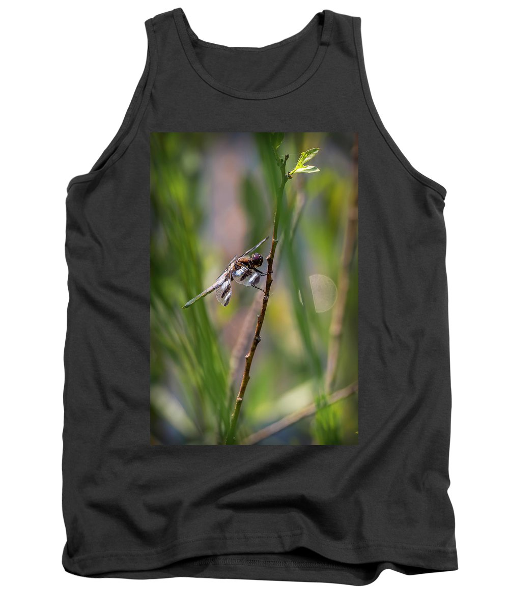 Insects Tank Top featuring the photograph 20-0616-0575 by Anthony Roma