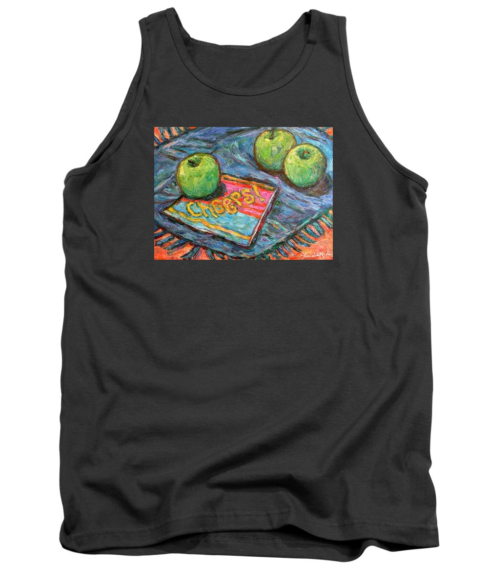 Still Life Tank Top featuring the painting Cheers by Kendall Kessler