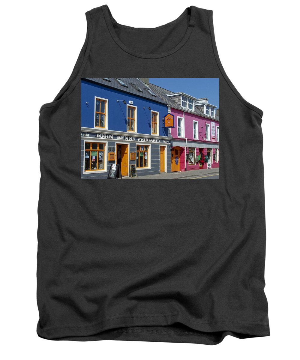 Irish Tank Top featuring the photograph Strand Street in Dingle Ireland by Teresa Mucha