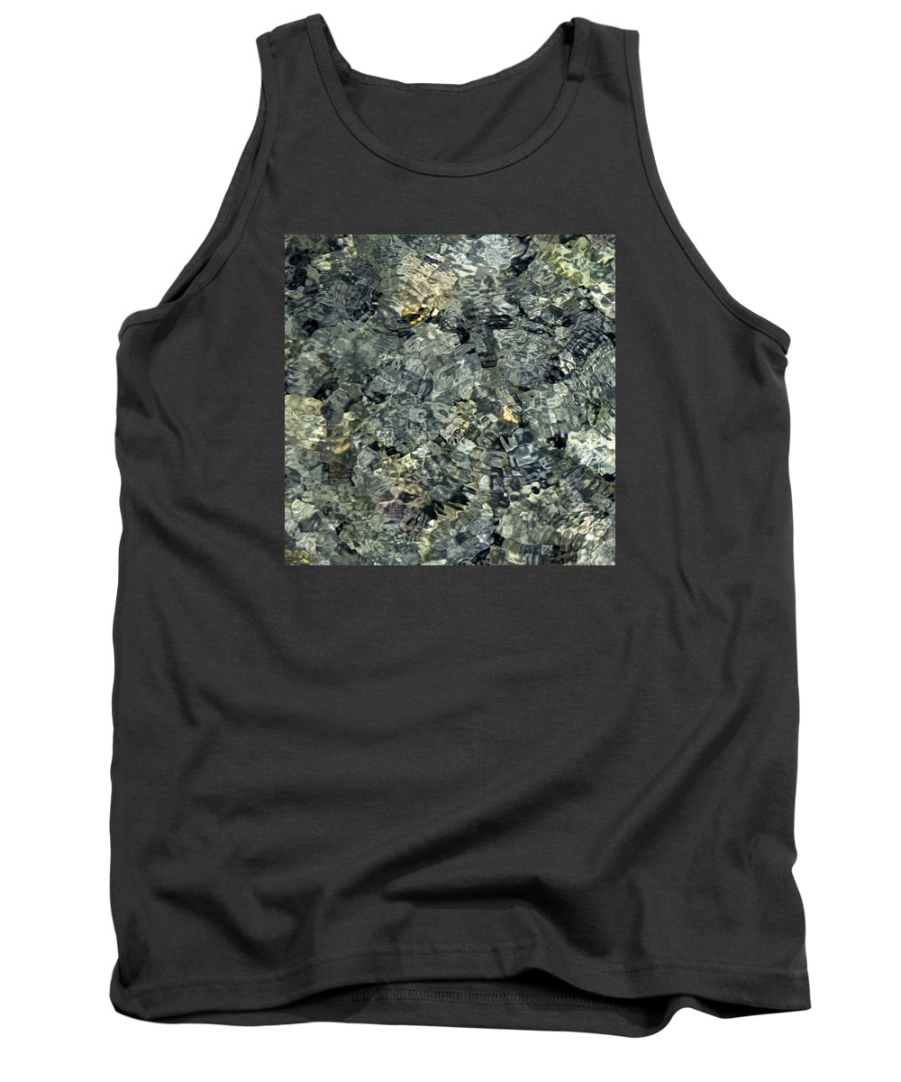 Water Tank Top featuring the photograph Water Rocks 1 by Andre Aleksis