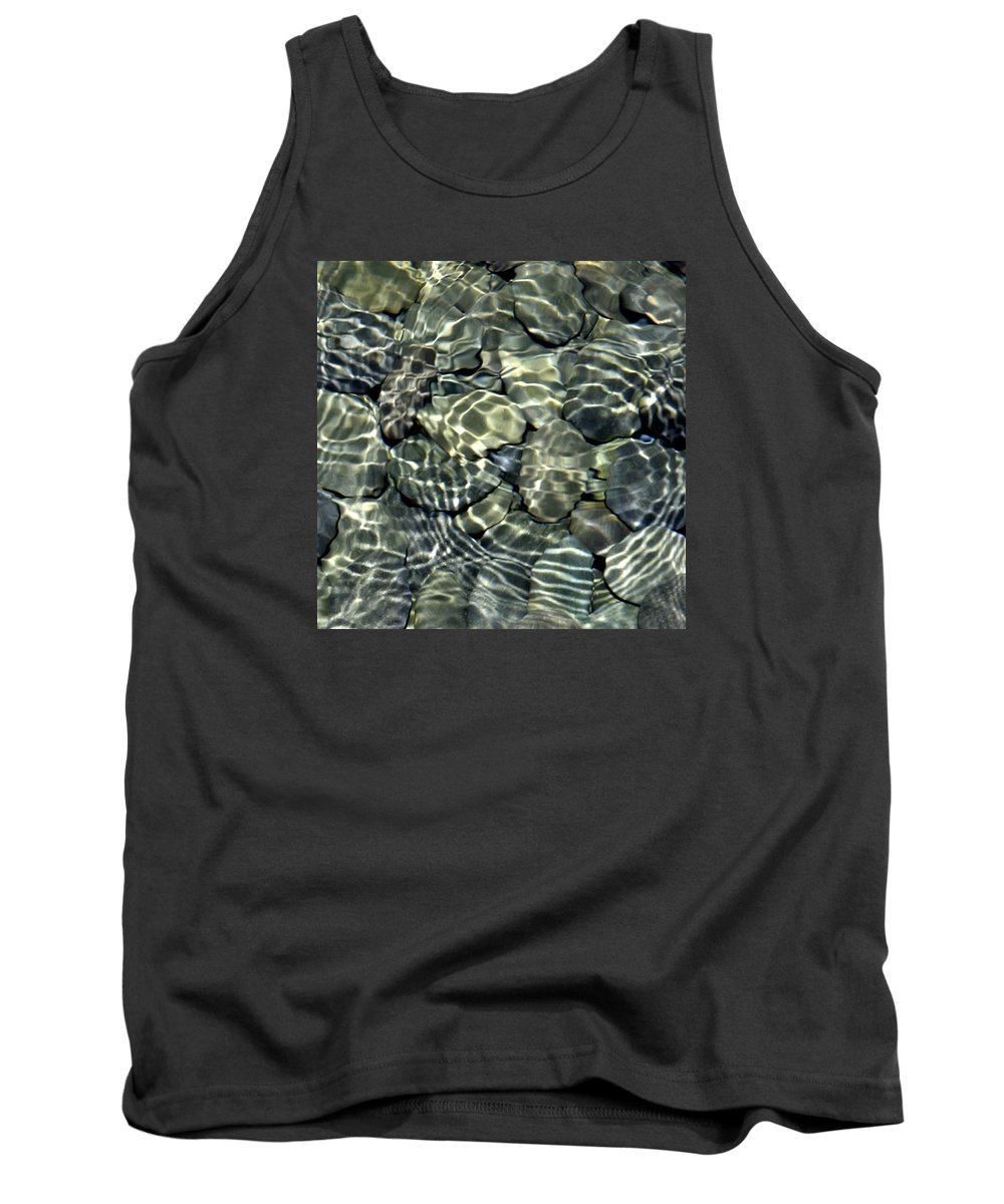 Water Tank Top featuring the photograph Water Rocks 2 by Andre Aleksis