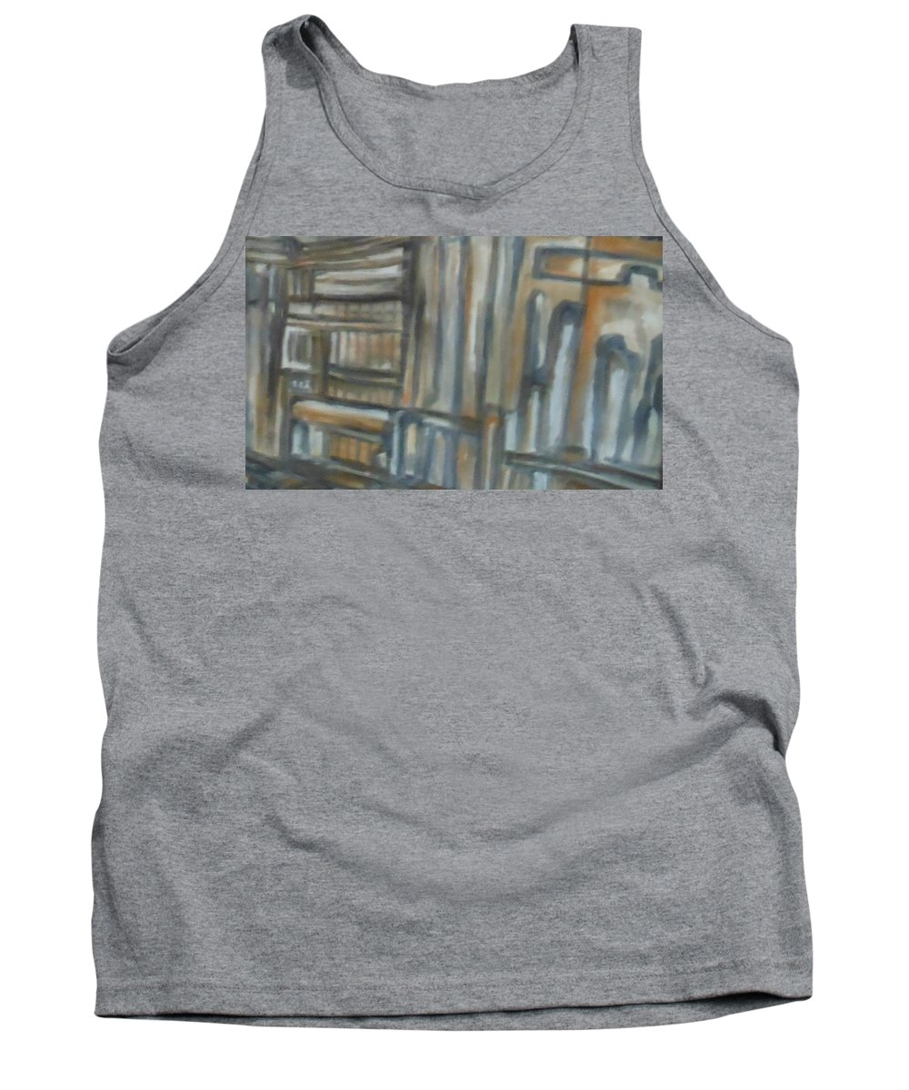 Abstract Tank Top featuring the painting Asylum by Lord Frederick Lyle Morris