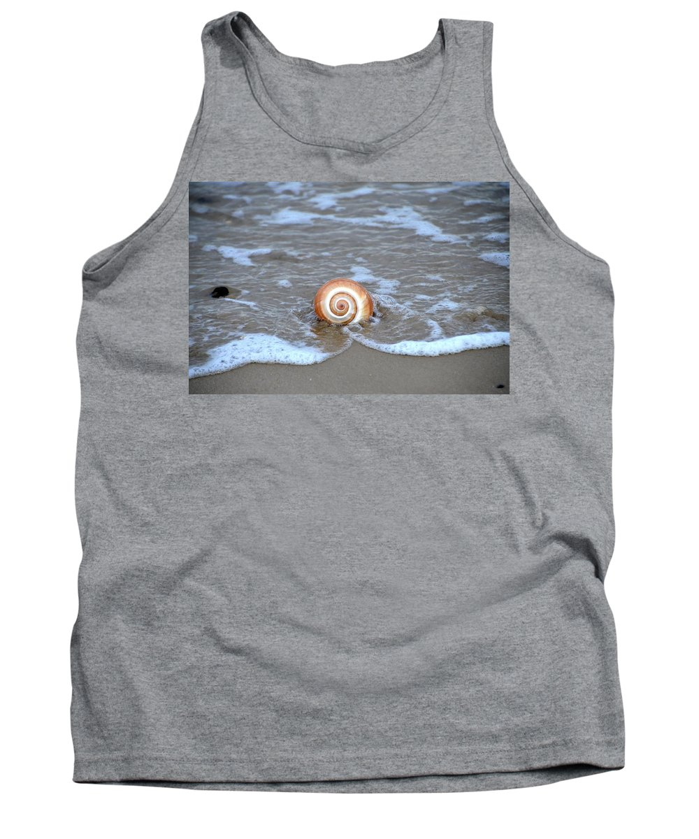 By Tank Top featuring the photograph By The Sea by Bill Cannon