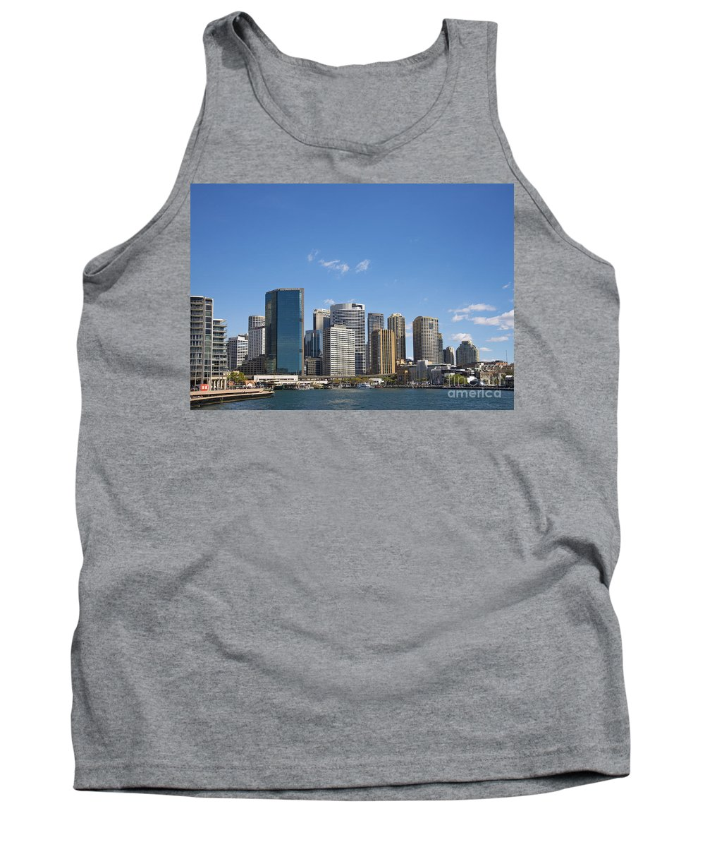 Architecture Tank Top featuring the photograph Circular Quay In Central Sydney Australia by Jacek Malipan