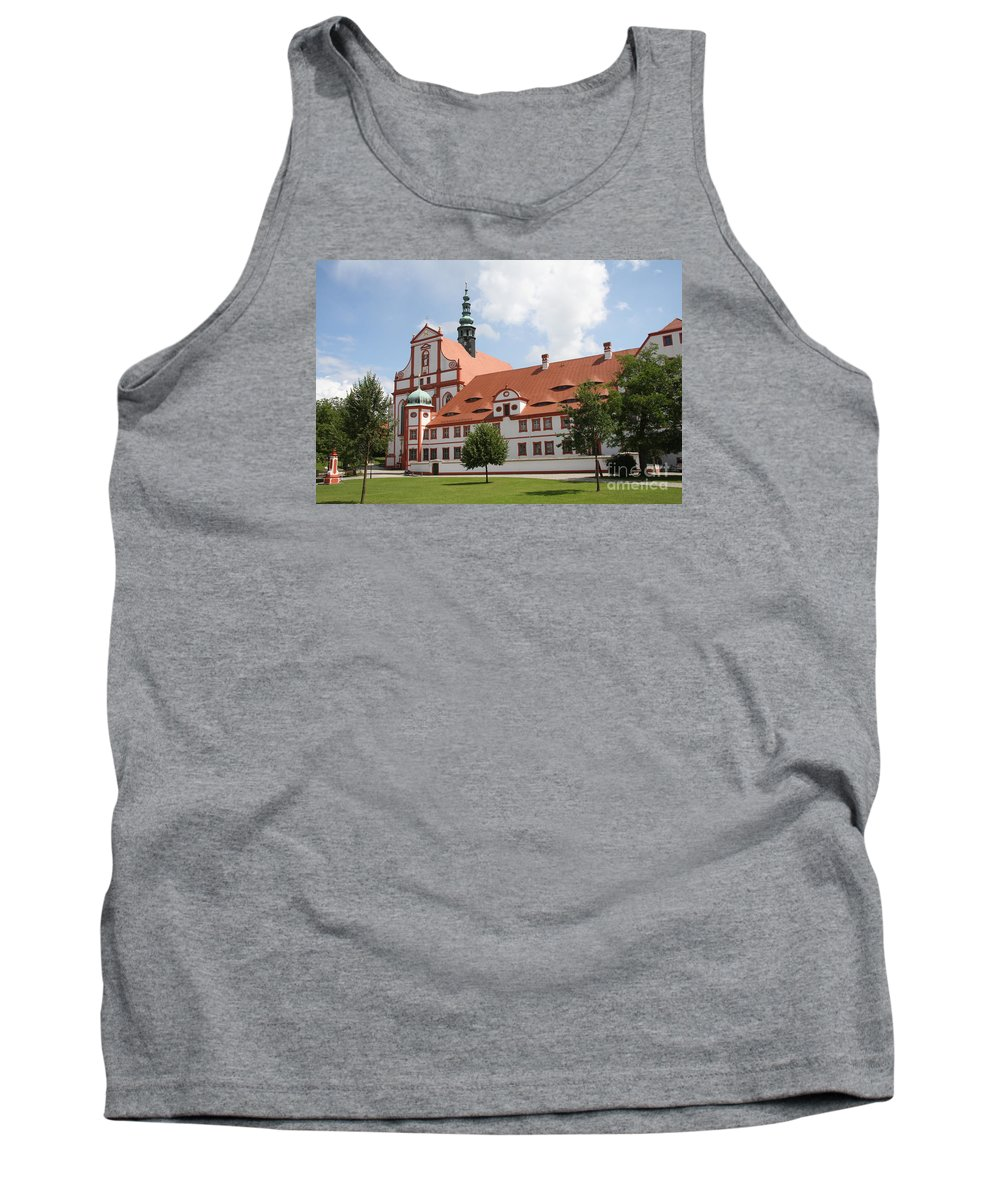 Cloister Tank Top featuring the photograph Cloister St. Marienstern by Christiane Schulze Art And Photography