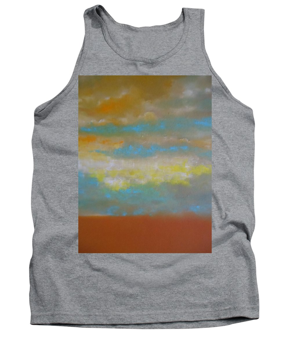 Abstract Tank Top featuring the painting Clouds by Lord Frederick Lyle Morris