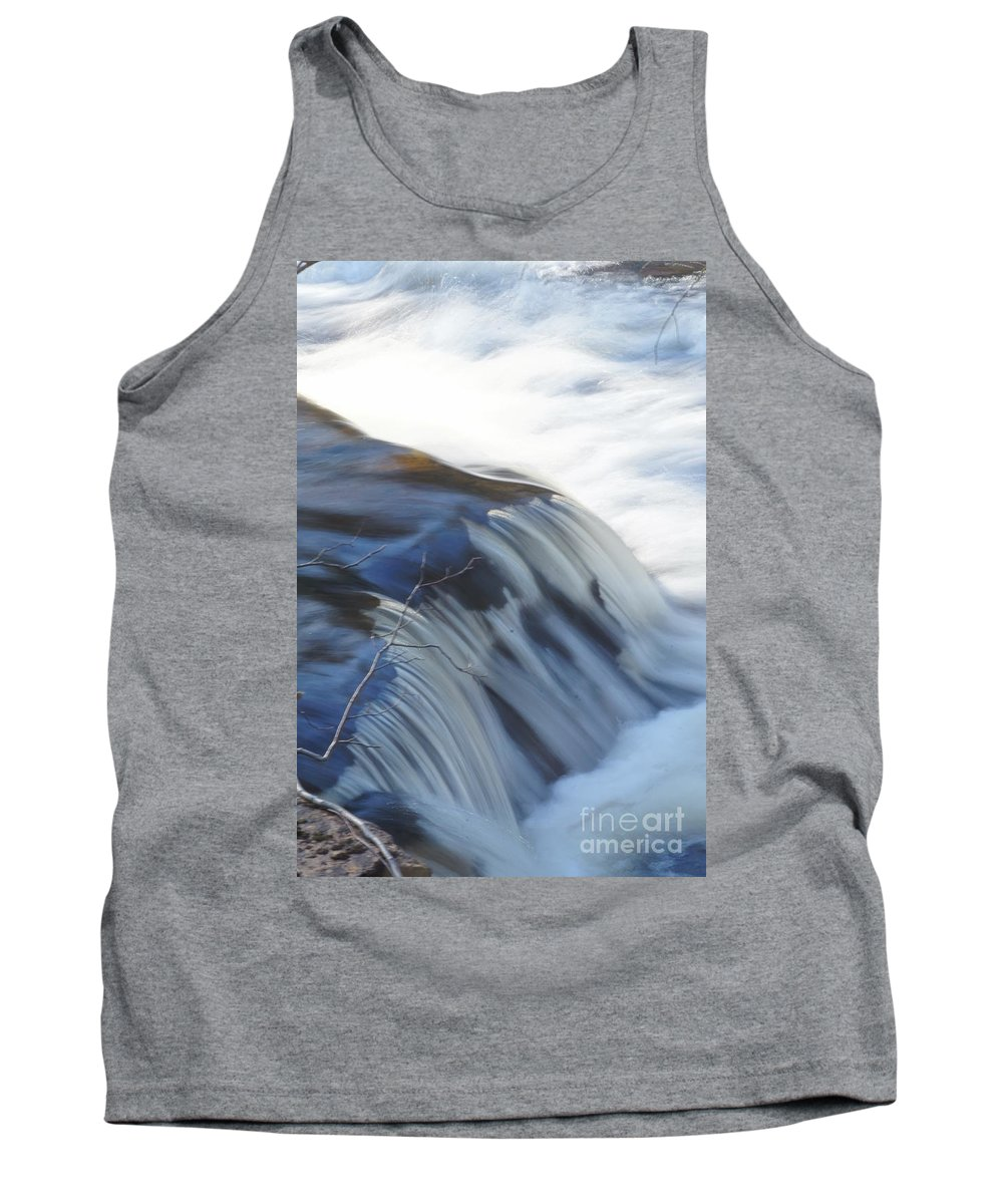 Motion Tank Top featuring the photograph Flowing Waters by Jeffery L Bowers