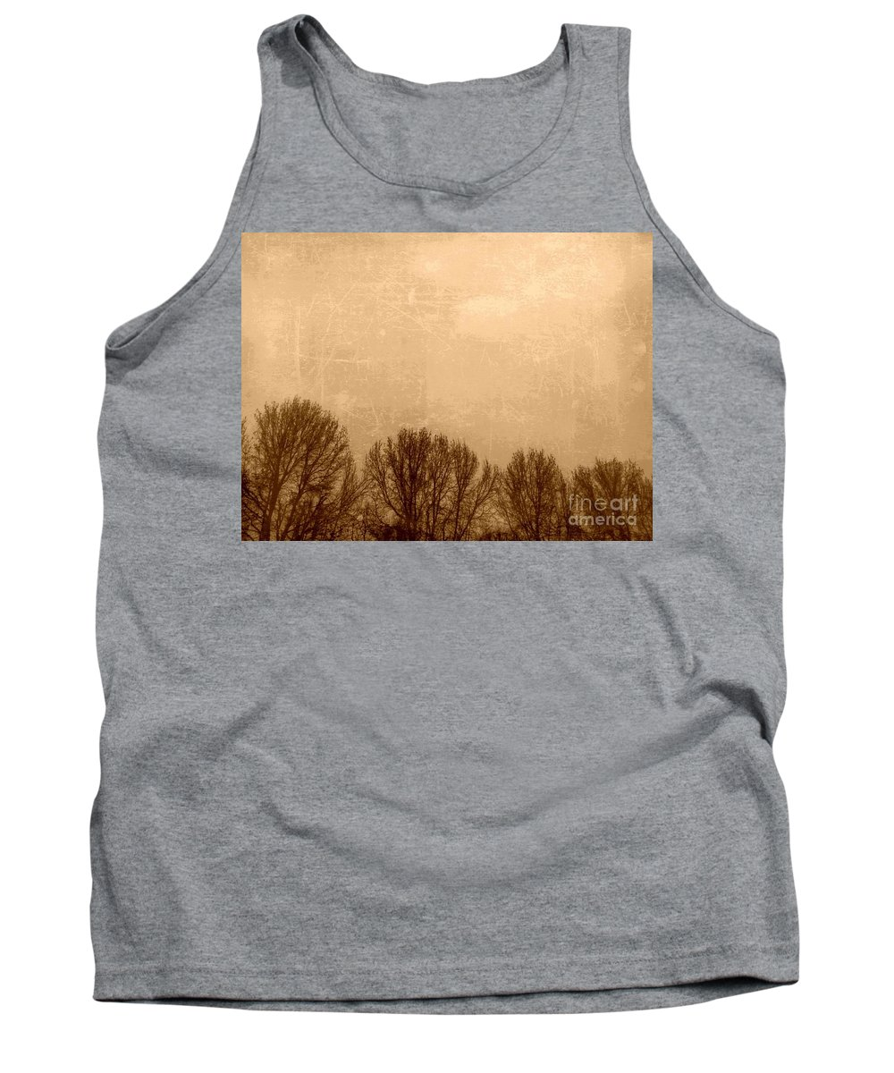 Nature Tank Top featuring the photograph Late Autumn by Fei A