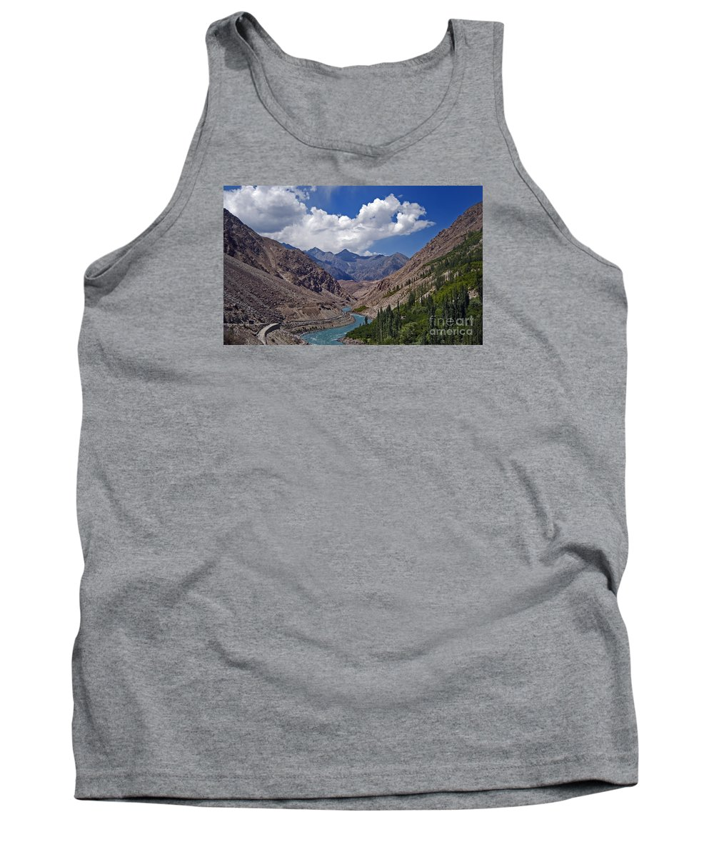 Nina Stavlund Tank Top featuring the photograph Himalayan Scenery... by Nina Stavlund