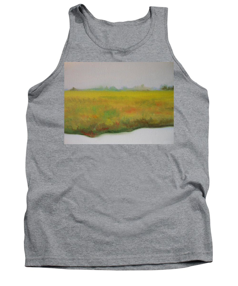 Abstract Tank Top featuring the painting Landscapre by Lord Frederick Lyle Morris