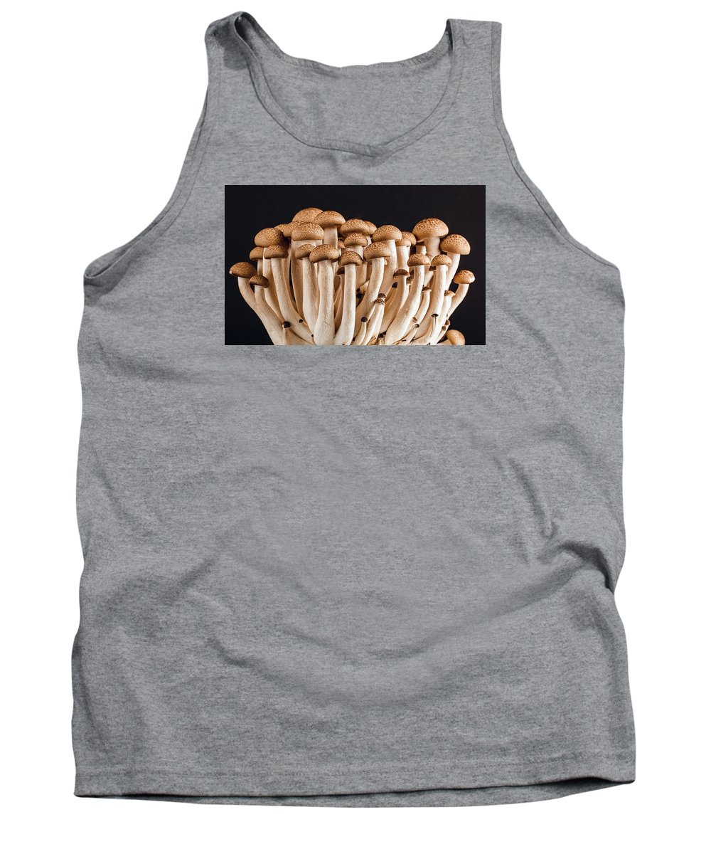 Wild Tank Top featuring the photograph Mushrooms by FL collection