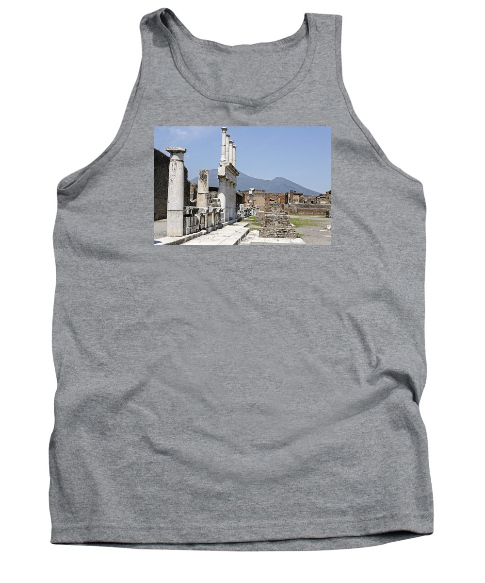 Italy 2014 Tank Top featuring the photograph Pompeii by Eric Swan