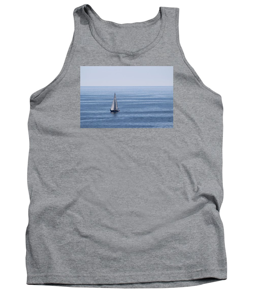 Sailing Tank Top featuring the photograph Maine Coast by Jeffrey Akerson